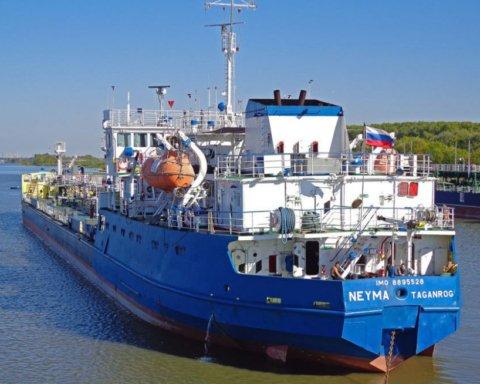 Задержание российского танкера в Измаиле: владельцы судна говорят, что ничего не знали