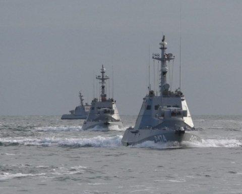 У Росії пояснили, куди поділися особисті речі з українських кораблів