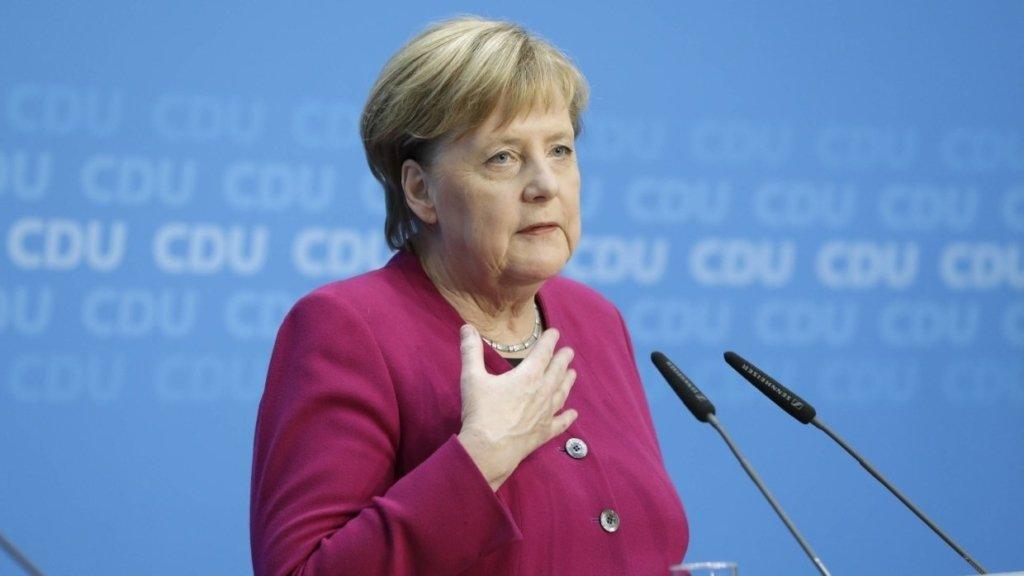 Однопартієць Меркель розповів про стан її здоров'я