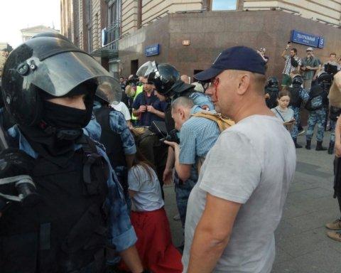 Майдан в Москві: силовики жорстоко б'ють неповнолітніх