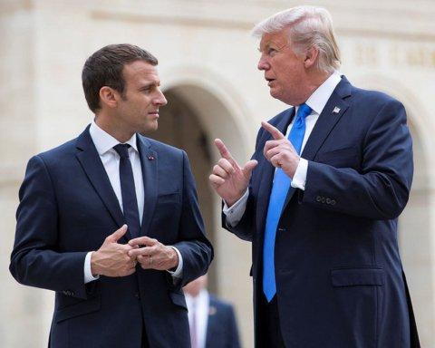 Трамп поссорился с Макроном из-за пошлин: угрожают друг другу санкциями
