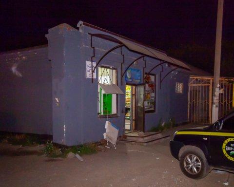 В Днепре снова взорвали банкомат «ПриватБанка»: подробности и кадры с места ЧП