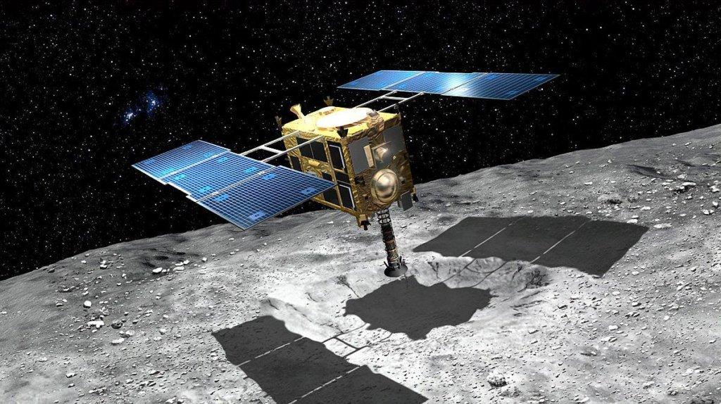 Японский зонд Hayabusa-2 совершил невероятную посадку на астероид: первое фото