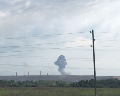 Появилось новое видео с места громкого взрыва на артскладах в России