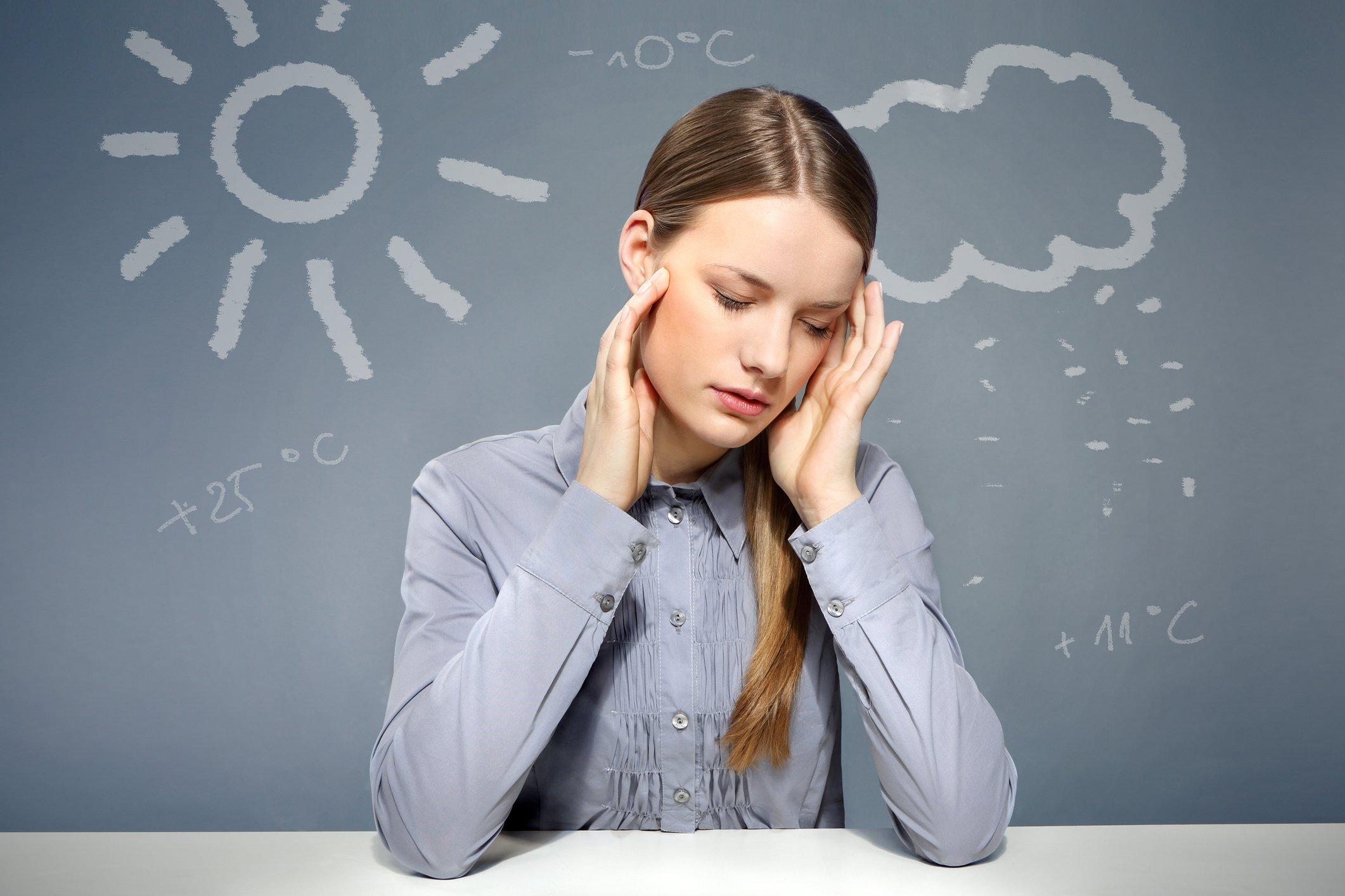 Картинки головной боли на смену погоды