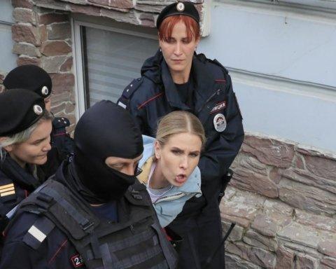 Протести в Москві: силовики затримали понад десять неповнолітніх