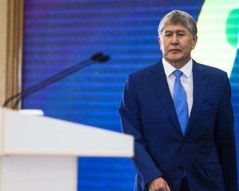 Затримання екс-президента Киргизстану: нові відео та подробиці