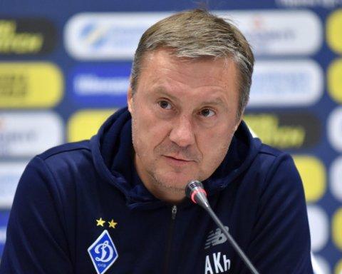Хацкевич прокоментував поразку Динамо від Шахтаря