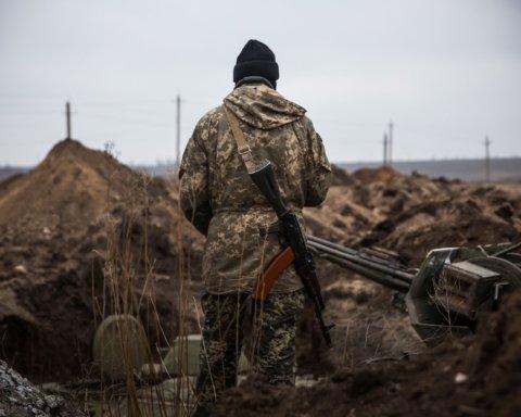 Боевики 7 раз обстреляли позиции ВСУ на Донбассе, есть раненый