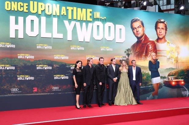 """Акторський склад """"Одного разу в Голлівуді"""" відвідав прем'єру в Берліні"""
