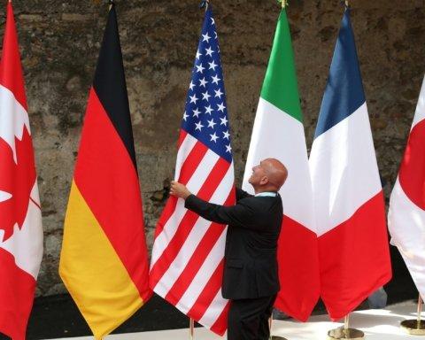 Возвращение России в G8: Путина и Трампа высмеяли на карикатуре