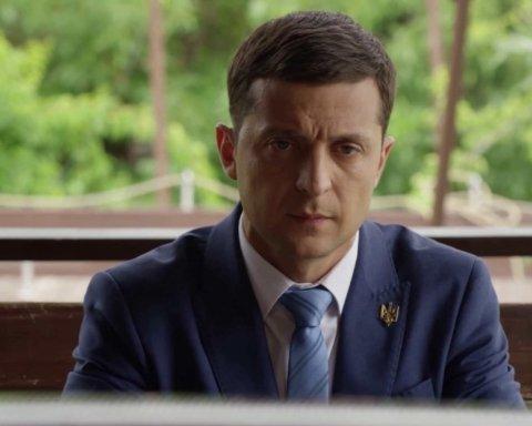 Зеленский в Золотом общался с псевдодобровольцами — штаб ООС