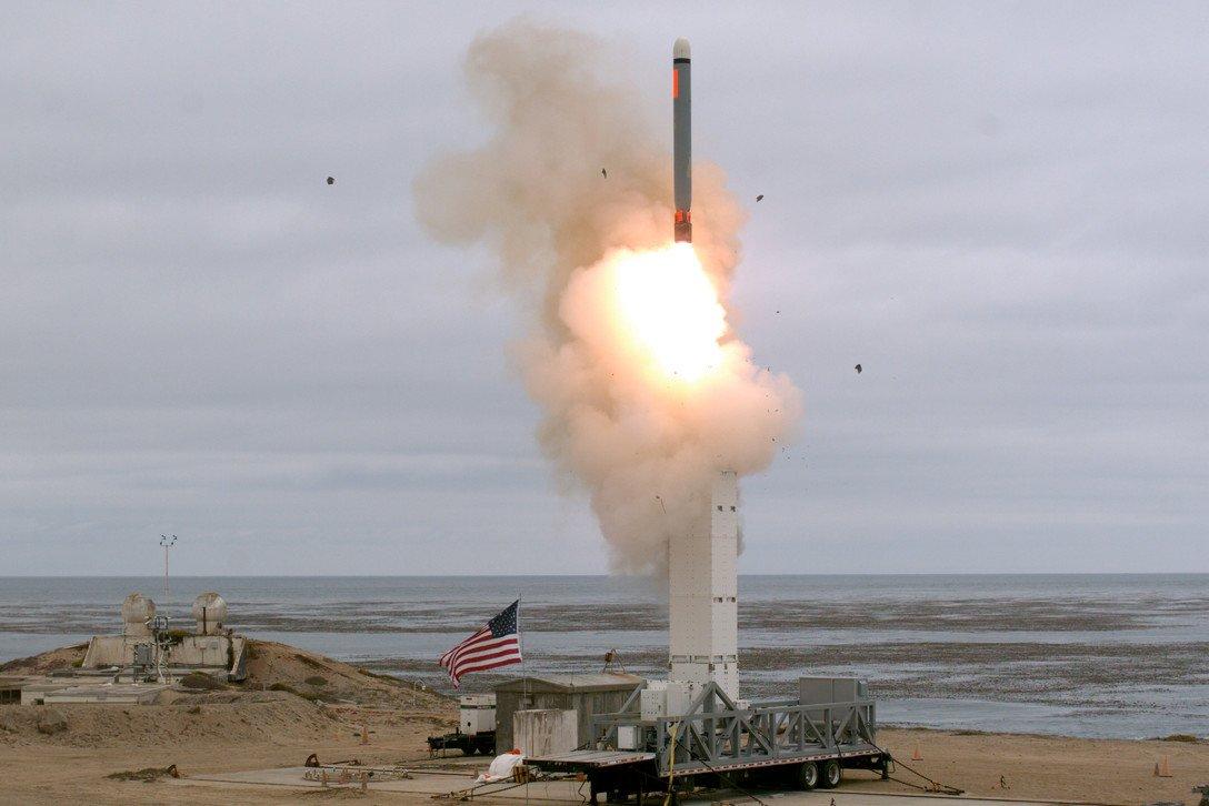 Штаты провели первое испытание ракеты, которая подпадала под ДРСМД