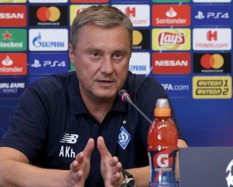 Хацкевич дал пресс-конференцию перед матчем Брюгге — Динамо
