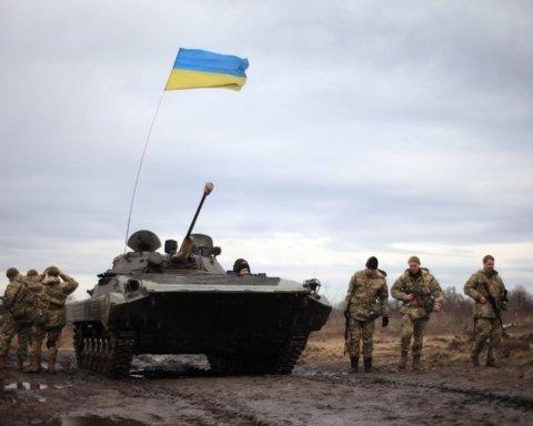 ВСУ метким выстрелом уничтожили позицию боевиков на Донбассе