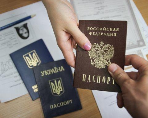 У РФ заявили, що видали українцям 100 тисяч російських паспортів у 2020 році