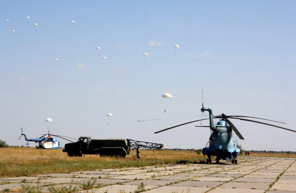 Українська армія потренувалася користуватися морською авіацією