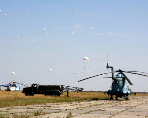 Украинская армия потренировалась пользоваться морской авиацией