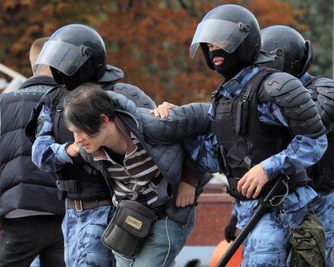 Протести у Москві: силовики затримали щонайменше півсотні неповнолітніх