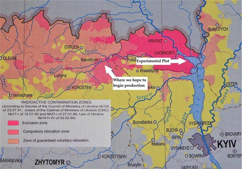 Радиоактивно безопасна: появились водка из Чернобыльской воды и пшеницы