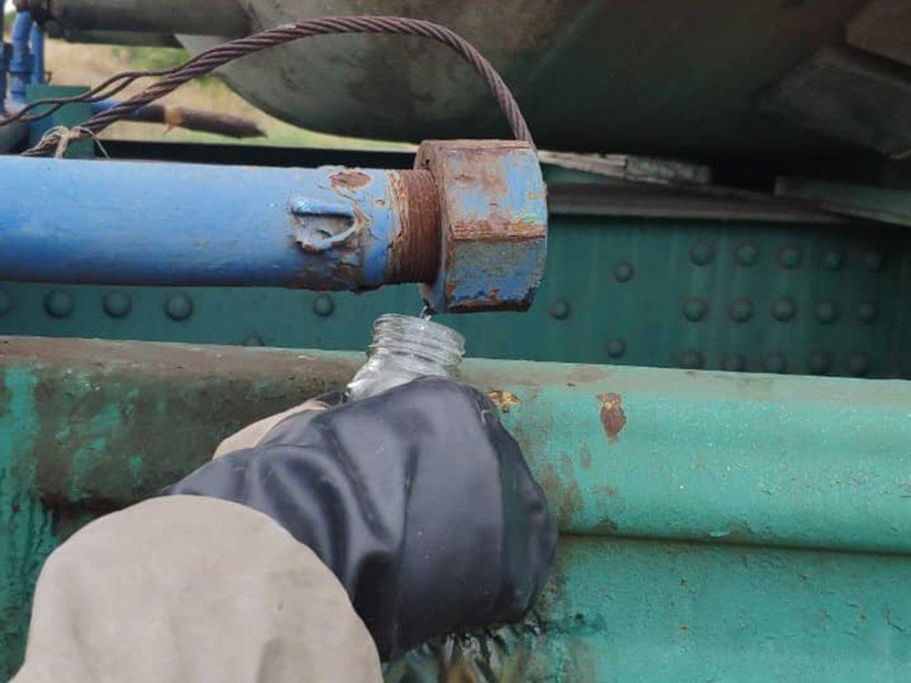 У Миколаївській області стався витік небезпечної речовини: перші кадри з місця НП