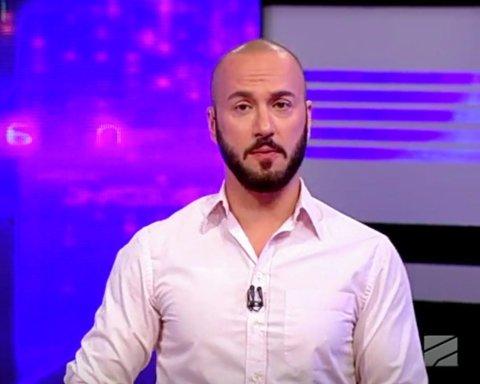 """""""Руставі-2″ звільнив журналіста, який образив Путіна в прямому ефірі"""