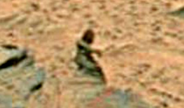 На Марсе нашли удивительную статую: фото