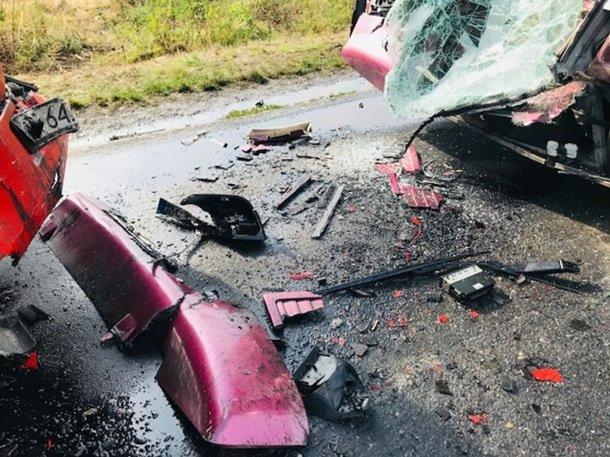 В Польше столкнулись два автобуса, много пострадавших