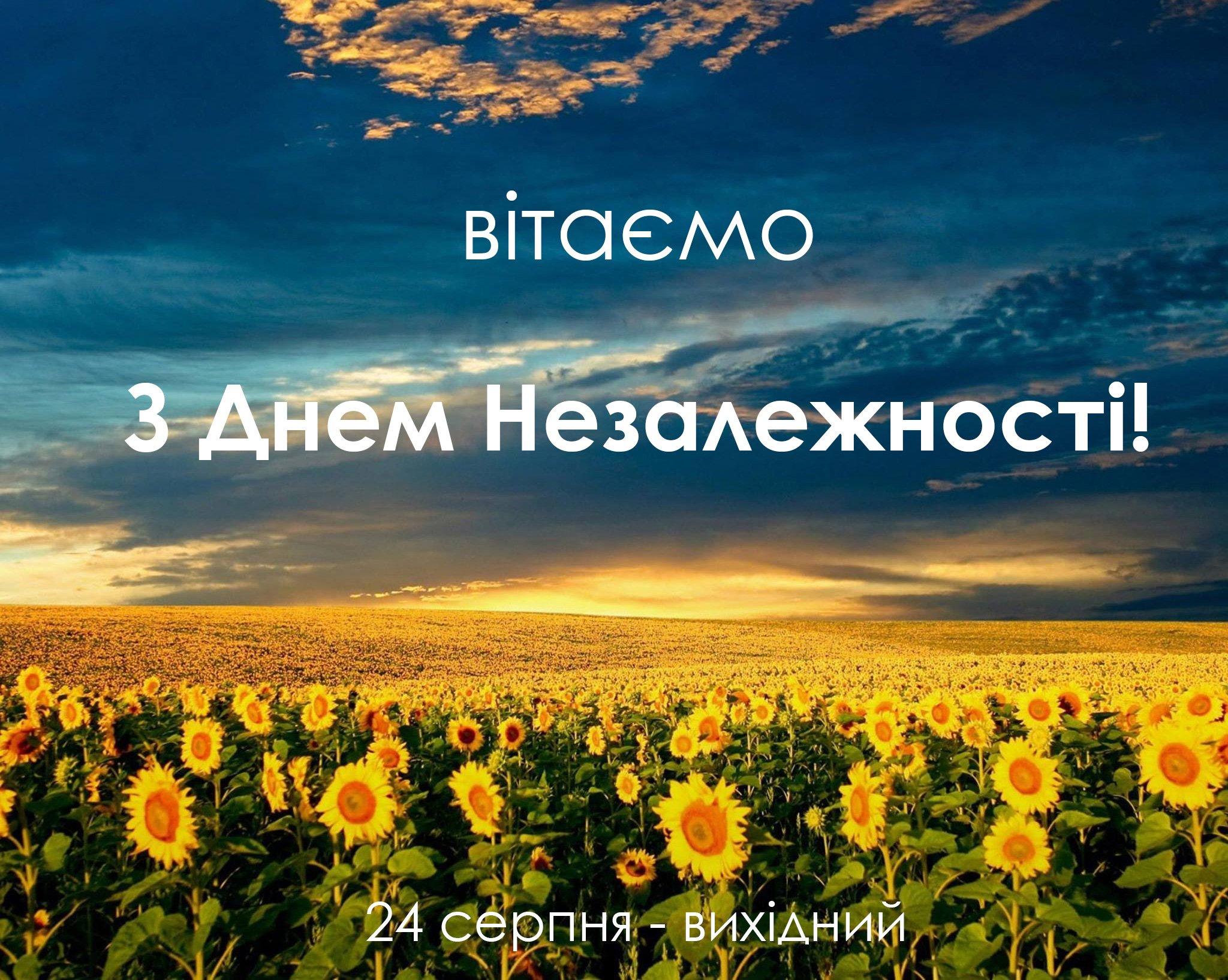 День Независимости Украины: яркие открытки и лучшие поздравления
