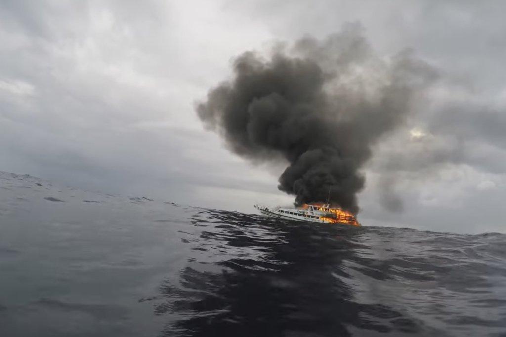 Крах російського корабля у Чорному морі: з'явилися подробиці