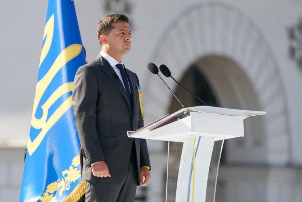 »Страна взаимного уважения, свободы и равенства»: Зеленский поздравил украинцев с Днем Конституции