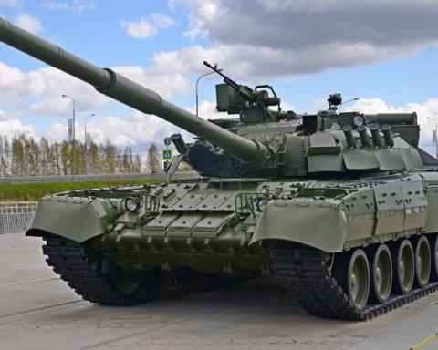 Українські танкісти ефектно потренувалися на одному з полігонів Донеччини