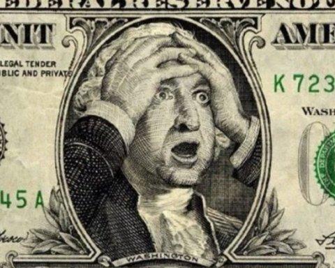 Курс доллара обвалился до психологической отметки