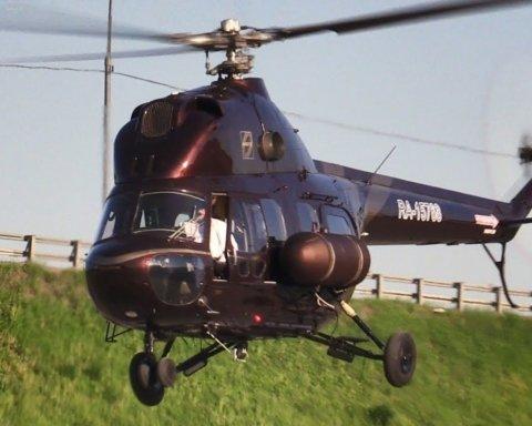 Прикордонники розповіли подробиці падіння гелікоптера на Львівщині