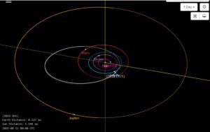 К Земле приближается смертельный астероид размером с египетскую пирамиду