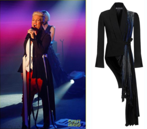 Pink вдягла на шоу одяг українського бренду