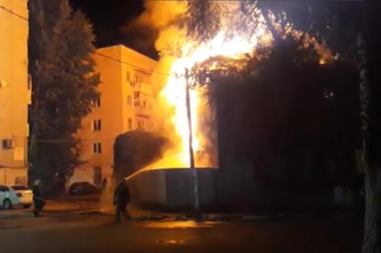 В России в многоэтажке заживо сгорели люди