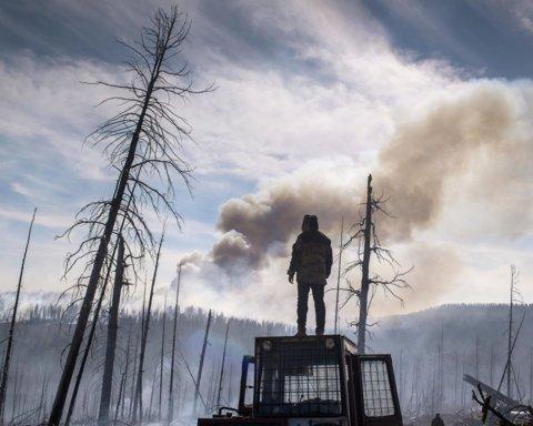 Из-за лесных пожаров в Сибири уже «задыхаются» США и Канада: введен режим ЧС