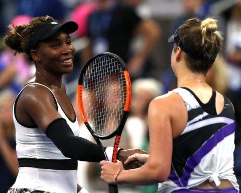 Уильямс после поражения от Свитолиной похвалила украинку: «талантливая теннисистка с большим будущим»