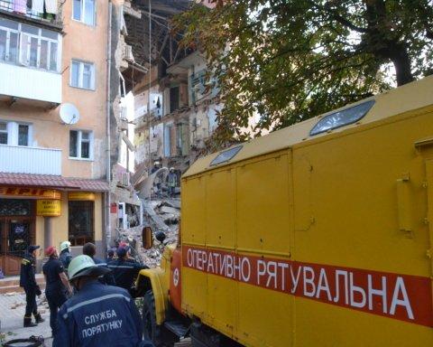 Взрыв в Дрогобыче: все семьи поврежденного дома будут отселены