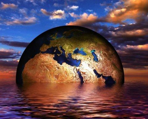 Когда весь лед на Земле растает: как будет выглядеть Украина