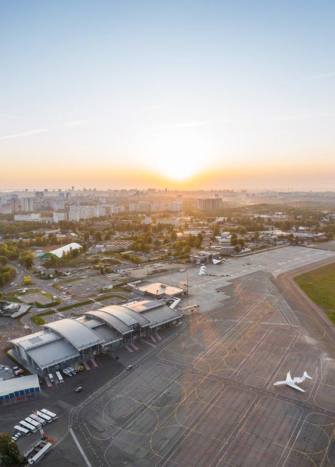Стало відомо, коли київський аеропорт Сікорського знову прийматиме рейси
