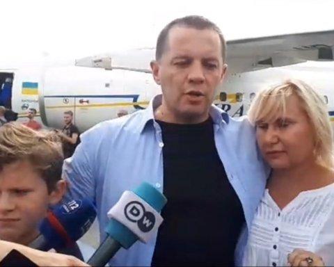 Появились интересные подробности освобождения Сущенко