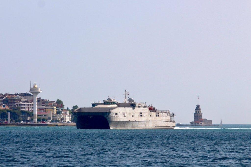 В Чорне море увійшов американський корабель USNS Yuma