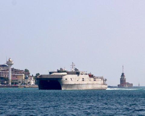 В Черное море вошел американский корабль USNS Yuma