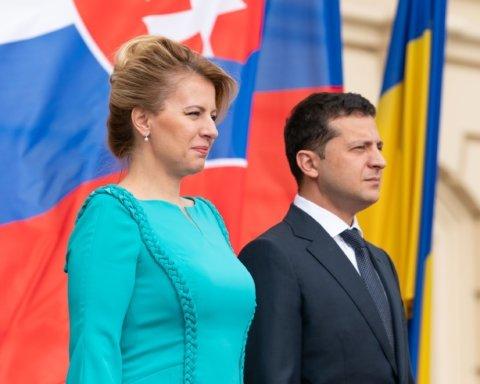 Президент Словакії пообіцяла розповісти на батьківщині про складну ситуацію в Україні