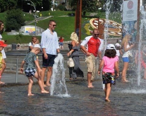 Метеорологи сообщили, когда в Киеве закончится летняя жара