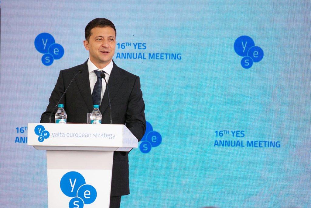 Зеленский провел встречу с основателем компании Alibaba Джеком Ма