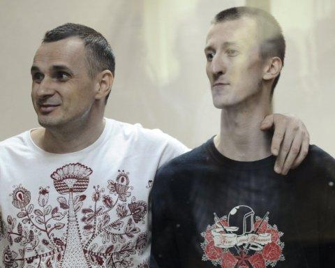 Крымская прокуратура хочет допросить Сенцова и Кольченка