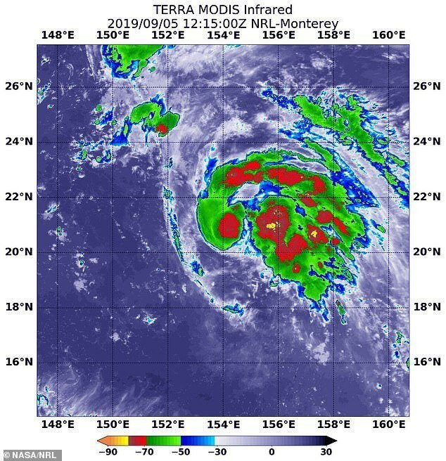 Землю накроют 4 урагана
